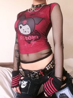 scenecore   Tumblr Ibuki Mioda, Goth Look, Scene Kids, Alternative Outfits, Alternative Fashion, Look Cool, Fashion Pictures, Cute Outfits, Swaggy Outfits