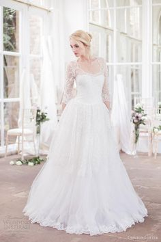 Gorgeous gowns from the 2012-2013 bridal collection of London-based South African designer Clinton Lotter.  Classical silhouettes are adorned with deliciously feminine details — some look constructed entirely of fabric petals while others glimmering with beads.