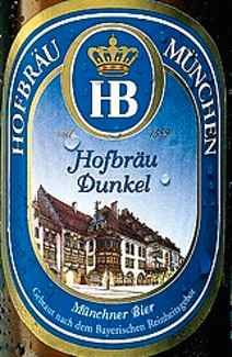 Dark beer existed in Bavaria long before light beer. This was the first type of beer to be brewed at Hofbräuhaus when it was founded.