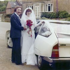 citroen car wedding