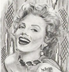 Maryline Monroe by ~zorart87 on deviantART | This image first pinned to Marilyn Monroe Art board, here: http://pinterest.com/fairbanksgrafix/marilyn-monroe-art/ || #Art #MarilynMonroe