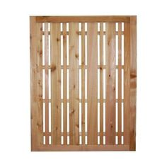 30 in. x 38.5 in. Horizontal Lattice Architectural Cedar Utility Panel-1.75x30x38.5 Horizontal Ltc at The Home Depot  - - for hiding AC unit