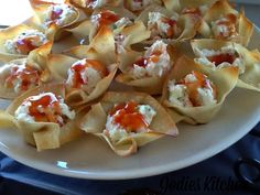 Jodies Kitchen: Crab Rangoon With Sweet And Sour Sauce In Wonton C...