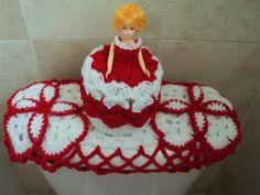 tejido para el baño hecho en hilo de lana set  para el baño hilo de tejer - lana hecho a mano