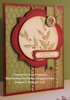 Stampin' By The Bay: Simply Sketched Christmas Card