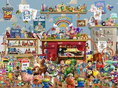 All the Toy Story Toys