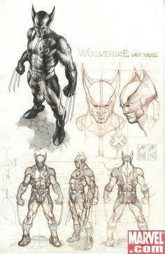 Wolverine by Simone Bianchi