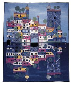 Tapestries - Hundertwasser