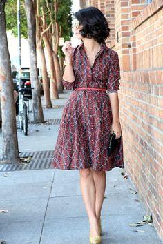 outfit: vintage look
