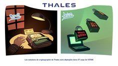 Les solutions de cryptographie de Thales sont déployées dans 27 pays de l'OTAN
