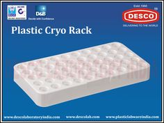 We are the suppliers of high quality Plastic Cryo Racks in India. These racks are highly durable, strong and autoclavable. To get more details for the same please visit our website.