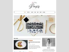 Dosis WordPress Theme - Magazine - Blog Theme - Premade Blog Themes - Responsive Blog Templates - Magazine Template - Travel - Lifestyle