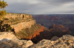 View of the Grand Canyon from the rim (Getty Images) You know it looks just like it does when you go on the train around the park at Disneyland.