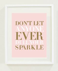 I will totally make this for my room, but use actual sparkles on the word sparkle #obvi