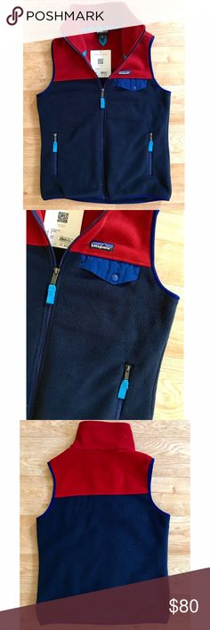 Patagonia Women's Snap-T Vest 🆕 - NWT Cozy fleece is perfect for wearing over a tee in the summer, a long sleeve in the fall or spring, and layered in winter. Versatile for all seasons. A full length zipper with two zippered hand warmer pockets. Iconic Patagonia snap flat chest pocket. Cozy collar. Brand-new with tags. Discontinued color not found in stores/online! Patagonia Jackets & Coats Vests