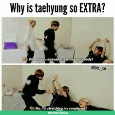 Extra Taetae kinda my weird tae