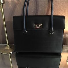 NWT Kate Spade Purse NWT!! Brand new never used. Black and gold Sinclair Hardwood Kate Spade Purse. Originally bought for $428 asking $325. Pictures don't do justice kate spade Bags