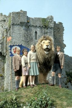 The only Narnia for me. Still of Sophie Cook, Richard Dempsey, Jonathan R. Scott and Sophie Wilcox in The Lion, the Witch, & the Wardrobe 1980s Childhood, Childhood Days, Lion Witch Wardrobe Movie, Science Fiction, Chronicles Of Narnia Books, Wardrobe Tv, Pet Lion, Wild Book, Mystery
