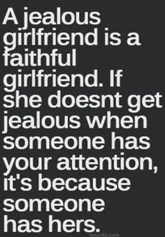 Hmmm... I'm not sure about this, I also hide when I'm jealous & I also think if he wants someone else, there is nothing I can do to change his mind.