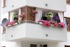 Balkon 59 Creative Small Balcony Decor for Best Spring Ideas – Balkon ideen Wooden Shutters, Indian Home Decor, Decor, Small Balcony Decor, House Interior Decor, Colorful Garden, Home Decor Furniture, Home Deco, Interior Decorating