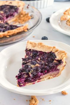 fresh blueberries nestled in a creamy custard filling, it doesn't get any better than this. Blueberry Custard Pie, Homemade Blueberry Muffins, Blueberry Recipes, Fruit Recipes, Pie Recipes, Appetizer Recipes, Sweet Recipes, Dessert Recipes, Cooking Recipes