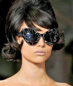Fashion & Lifestyle: Jeremy Scott Sunglasses... Spring 2014 Womenswear