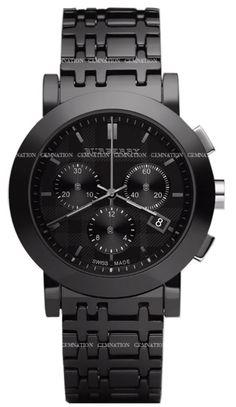 Burberry Ceramic Chronograph Mens Wristwatch  Model BU1771  Retail Price$995.00  Our Price$764.99
