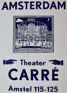 Linocut and Letterpress, Theater Carré