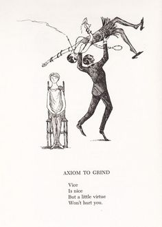 sixpenceee:  A compilation of Edward Gorey and his rather gothic...