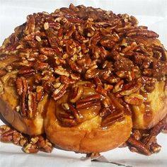 Sticky Buns Cinnamon Bun Recipe, Cinnamon Rolls, Caramel Rolls, Sweet Dough, Sticky Buns, Pastry Recipes, Baking Recipes, Rolls Recipe