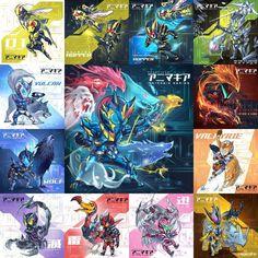 Kamen Rider Zi O, Kamen Rider Series, Power Rangers, Cyberpunk, Fanart, Character Design, Nerd, Gadgets, Superhero