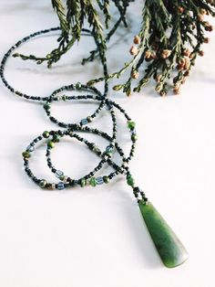 Big Sur Jade - Storm Tide Ceremonial necklace