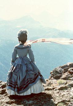 "Jennifer Jason Leigh in ""Washington Square,"" (1997). Costume design by Anna B. Sheppard."