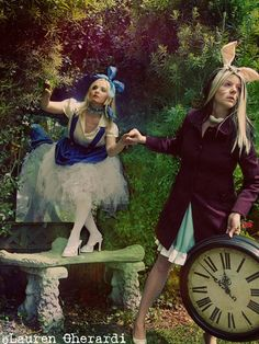 Alice in Wonderland @Lauren Davison Gherardi