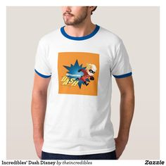 Shop Incredibles' Dash Disney T-Shirt created by theincredibles. Personalize it with photos & text or purchase as is! Disney Incredibles, Disney Pixar, Personalized Products, Casual Looks, Vintage Inspired, Fitness Models, Mens Tops, T Shirt, How To Wear