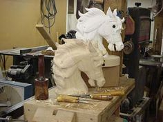 Carousel Horse Carving Workshops
