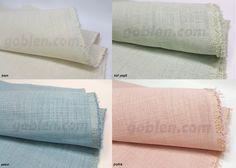 Renkli etamin kumaşı - İndirimde  Leke tutmaz, yıkanabilir.  https://www.goblen.com/tr/linen-etamin--u