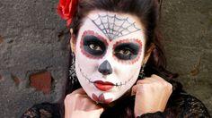 maquillaje para halloween para mujermaya castro
