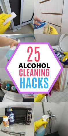 Rubbing alcohol is an awesome cleaning product for every home! It has plenty of household uses when it comes to cleaning and disinfecting. It can be used to disinfect your toilet seat, door knob and remove sticky residues in the bathroom. Here are 25 amazing ways to use rubbing alcohol at home, read the blog to learn all the cleaning tips and tricks! #homewhis #cleaninghacks #cleaningtips #cleaningideas #rubbingalcohol #rubbingalcoholuses Cleaning Recipes, Diy Cleaning Products, Cleaning Hacks, Cleaning Spray, Bathroom Cleaning, Rubbing Alcohol Uses, Remove Sticky Residue, Daily Shower Cleaner, Clean Window Blinds