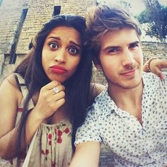 Lilly Singh and Joey Graceffa