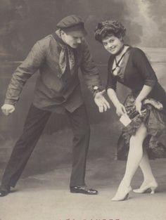 Danse d'Apaches Image Paris circa 1910s by redpoulaine