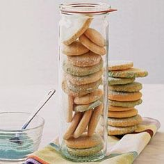 Sugar Sand Cookies Recipe | MyRecipes.com