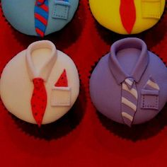 Shirts n Ties   DIY Fathers Day Cupcakes Ideas for Kids to Make   DIY Birthday Gifts for Dad from Kids
