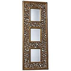 "Rickland Gold 19"" x 51"" Wall Mirror"
