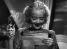 Magpie, wehadfacesthen:   danvotchka:  Bette Davis in Fog... Bette Davis in Fog Over Frisco (William Dieterle, 1934)
