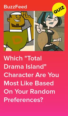"""Which """"Total Drama Island"""" Character Are You Most Like Based On Your Random Preferences? I got Gwen Total Drama Island Duncan, Duncan Total Drama, Drama Funny, Drama Memes, Girl Cartoon Characters, O Drama, Kids Tv Shows, Personality Quizzes, Fun Quizzes"""