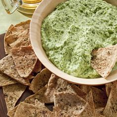 Creamy Spinach Dip. This site has recipes with greek yogurt