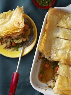 Loaded with white-meat chicken and lots of hearty root vegetables, this healthy pot pie makes the perfect family meal. Get the recipe >>