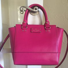 Kate Spade Wellesley Small Camryn Satchel Sweetheart Pink #KateSpade #Satchel