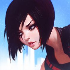 Faith, Ilya Kuvshinov on ArtStation at https://www.artstation.com/artwork/faith-3cfdc546-764b-4279-a92a-0056653bd883